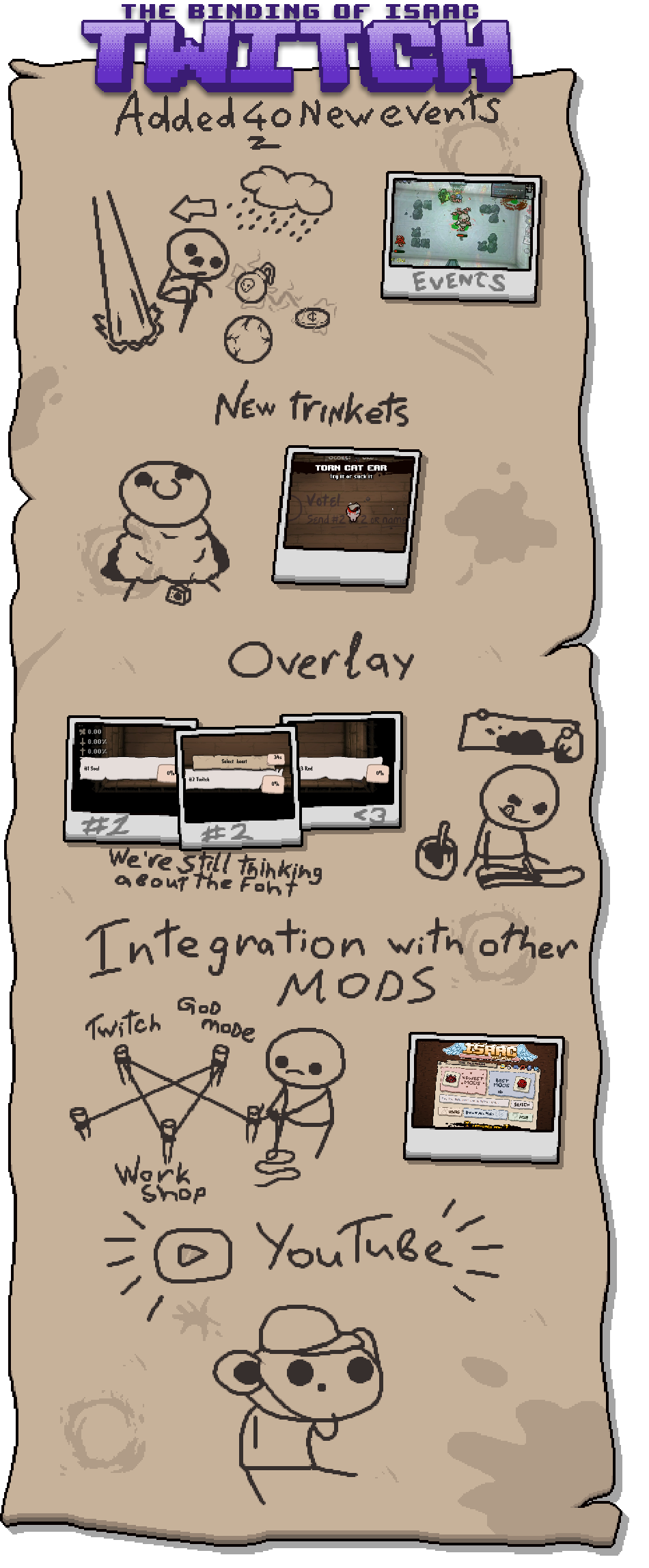 Isaac on Twitch (OBSOLETE) - Modding of Isaac